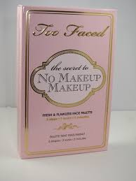 for spring too faced goes natural with its new no makeup makeup fresh flawless face palette