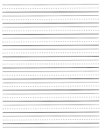 Elementary Ruled Paper Pin By Abigail Robertson On Their First Teacher Writing Paper