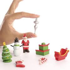 Miniature Christmas Ornament Figurines - Christmas Ornaments ...