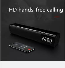 Miễn Phí VC) Loa Thanh Loa Bluetooth Sheng You SY Q2 Loa Bluetooth Siêu  trầm hay không ồn có LED hiển thị đồng hồ báo thức trên loa có tích hợp  micro