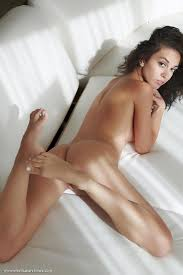 Sexy Brunette Karen Plays Naked And Caresses Her Pussy By Errotica Archives