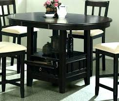 round table lunch buffet counter height round table and chairs counter high table round cute round round table