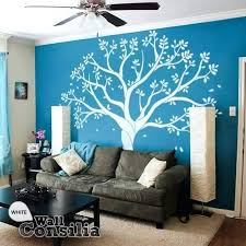 tree wall decal wall white decoration extra large family tree wall decal with picture frames