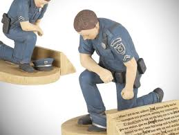 winston porter police officer figurines gifts for police officers