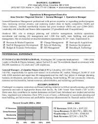 Sample Resume For General Manager General Manager Resume General Manager Resume Sample 1