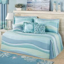 ocean tides daybed set cerulean blue daybed