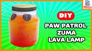 how to make paw patrol zuma lava lamp cool science mytoyvillage