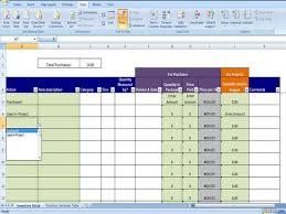 Cost Savings Tracking Template Inventory Tracking Template Calculates Running Tally Of