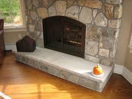 hearth stone fireplace