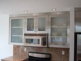 Image Of: Glass Kitchen Cabinet Doors Modern Kitchen Furniture Sets Cream  Color Wooden