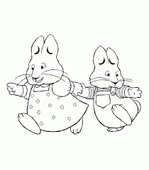 Small Picture Max And Ruby Coloring Max And Ruby Thanksgiving Coloring Pages