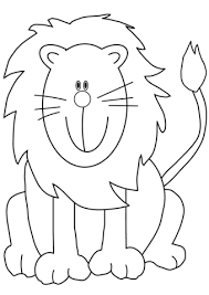 Small Picture Lovely Cartoon Lion coloring page Free Printable Coloring Pages