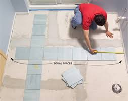 ceramic floor installation. how to lay tile install a ceramic floor in the bathroom installation l