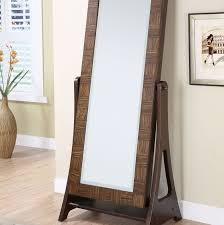 white wood floor mirror bedroom decorating interesting standing mirror jewelry armoire in