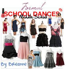 formal dances middle