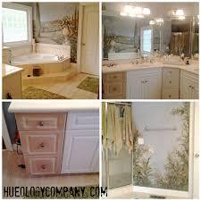 Painted Bathroom Cabinets Painting Bathroom Cabinets Master Bath Makeover Hueology Studio