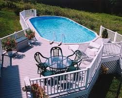 above ground pool with deck attached to house. Above Ground Pool Deck Plans With Attached To House D