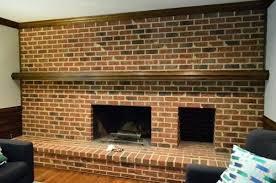 update brick fireplace brick fireplace with stone hearth update brick fireplace dark living room brick wall update brick fireplace