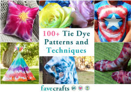 Tie Dye Patterns Awesome 48 Tie Dye Patterns And Techniques FaveCrafts