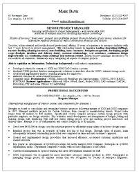 Property Manager Resume Example – Foodcity.me