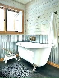 metal shower walls s corrugated sheet metal shower walls