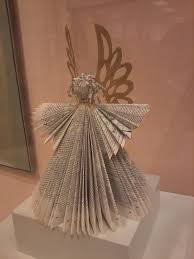 book angel looks like a good use for an out of date tax book find this pin and more on folded book art