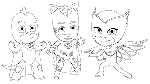 Small Picture Masks Connor Amaya and Greg disguised as Catboy Owlette and Gekko