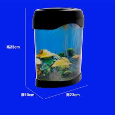 novelty led desktop decorative lights will move the jellyfish aquarium fish tank night light home decoration indoor lighting in night lights from lights