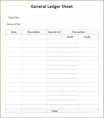 Printable Ledger Template 2 Column Ledger Template Printable Paper Excel