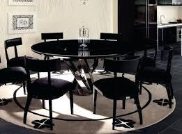 impressive black dining room set round with the extending 2 leaf table oak tables marvelous modest