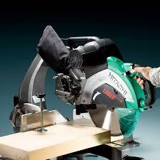 hitachi chop saw. c12rsh2 305mm slide compound mitre saw hitachi chop