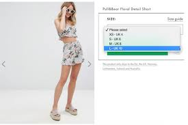 Pair Of Thieves Size Chart Asos Is Advertising A Size 10 Pair Of Shorts As Large And