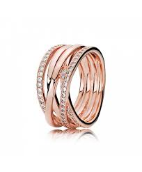 rose gold entwined ring clearance