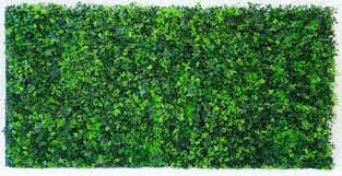 artificial forest fern green wall