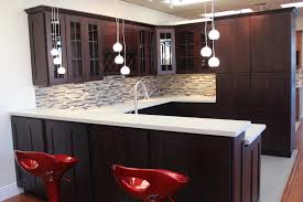 Expresso Kitchen Cabinets Espresso Kitchen Cabinets With Glass Doors