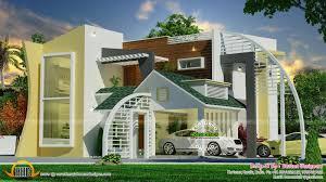 unique ultra modern contemporary home kerala home design