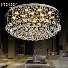 luxury crystal chandelier light res de cristal lamp flush mounted chandeliers home lighting for indoor 100 guaee wood chandelier chandelier lamp