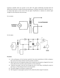 av instrumentation lab report 9 transducer