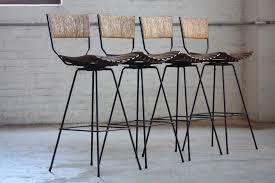 mid century modern bar stools. Vintage-mid-century-modern-bar-stools Mid Century Modern Bar Stools B