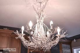 white twig chandelier by funkyjunkinteriors net