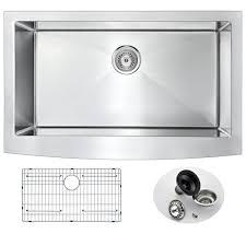KOHLER Vault Dropin Farmhouse ApronFront Stainless Steel 36 In Farmhouse Stainless Steel Kitchen Sink