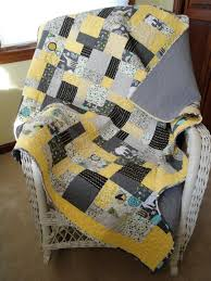 black and grey baby quilts on Etsy.  I believe this is the Yellow ... & black and grey baby quilts on Etsy.  I believe this is the Yellow Brick Adamdwight.com