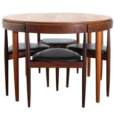 danish teak dining set for four by hans olsen my aunt has this set it s beautiful