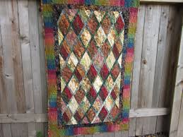 22 best Items for Sale at Quilting Miss Daisy on etsy images on ... & Batik Quilt Wallhanging Throw Diamonds in by QuiltingMissDaisy, $125.00 Adamdwight.com