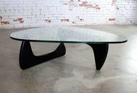 vintage noguchi coffee table in black