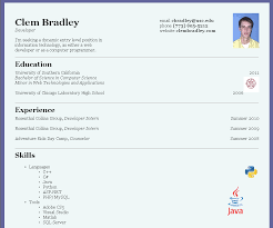 Standard Resume Format Sample Below Are Some Resumes Web Page Create
