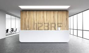 what is a reception office. Office Reception Area Empty White At Wooden Wall Panoramic Window Right What Is A