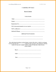 Standard Bill Of Sale For Boat 10 Free Printable Bill Of Sale For Car 1mundoreal