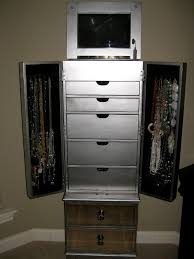 awesome mirrored jewelry armoire for your furniture and storage ideas cool furniture jewelry armoire for
