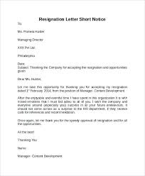 Accepting Resignation Letter Tag Sample Acceptance Resignation